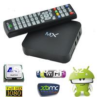 MX Amlogic 8726 Dual Core  Android TV BOX XBMC Full Download 1G/8G WiFi USB RJ-45 AV HDMI Gbox Media Player Free Shipping