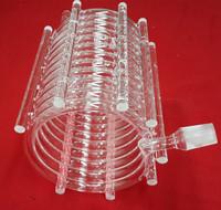 optical instruments/condensing quartz glass tube/quartz glass rod/plate/semiconductor industry/optical reaction quartz tube