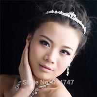 Bride Rhinestone Crystal Bridal Hair Crown Wedding Tiara Jewelry Accessories HJ015