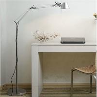 Long arm floor lamp table lamp classic American metal texture quality LED bulb send floor lamp eye goggles