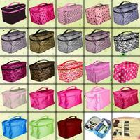 Free Shipping EQA223 Fashion Women Travel Make-up Cosmetic Pouch Bag Portable Handbag Casual Purse
