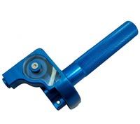 BLUE CNC BILLET THROTTLE CLAMP CRF XR 50 PIT/DIRT BIKE