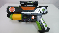 nerf gun for children free shipping cute look plastic guns pistol with lights and musics