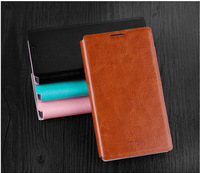 4Color,MOFI Luxury Genuine Leather Phone Flip case for Nokia X X+,High quality Stand Thin Cover case