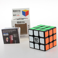 New Moyu Aolong Black 3x3 magic cube Ao Long 3x3x3 puzzle (weilong v3)