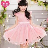 6-15 Years girl dress tutu spring vestidos de festa para menina  party dress Female frozen queen in princess children fashion817