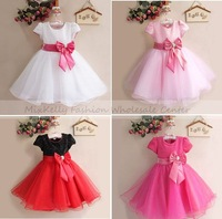 hot sale! 2014 Christmas girl dress, girls princess tutu lace dress,baby girl wedding dress birthday party dresses 3-4year