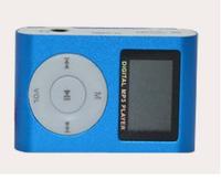 2014 new Metal clip MP3 Player Small screen Clip MP3 Mini MP3 with