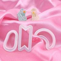 DAB mini princess shoes cutter fondant tools cake decorating tools cake mold sugar cupcake baking mold bakeware tools TS25054