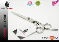 Wholesale HUNTERrapoo  6 INCH Professional Barber Scissors Regular Cutting scissors Hairdressing Shears Chinese 440C quality