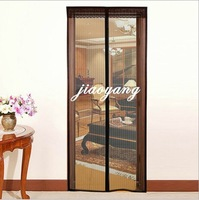 New arrivral retail magic mesh hands-free screening door curtain magnetic anti mosquito top qulity