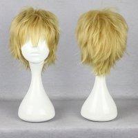 30cm Short Kagero project  Kazuya Kano synthetic cosplay anime heat resistant wig
