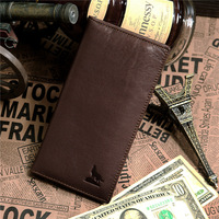 Hot Sale 100% Real Leather Men Wallet Genuine Credit Card Holder Purse Free Shipping # 8015-1C