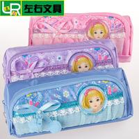 wholesale deals pencil pouch bag girls pencil case blue stationery bag bow pencil holder cute pencil bag