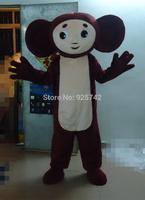 MASCOT CITY Cheburashka russian mascot costume custom fancy costume cosplay kits mascotte fancy dress carnival costume
