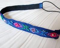 holesale retail charming Fshion embrodiery beads beading handmade Elastic headband party hari accessories