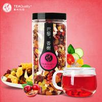 2014,Flower fruit tea, Fruits tea, Flavored fruit tea, 200g,Free shipping