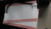 carbon fiber heating pads,car seat heater pads,4 piece/set
