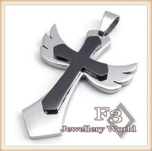 popular angel cross pendant