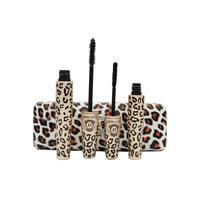 Makeup Leopard Print Mascara Set Waterproof Cosmetics Maquillage Long Lush Eyelash Eyelashes Love Alpha Make up For Eyes