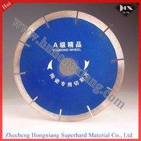 China manufacture 120*20*2*12 top quality  A grade Ceramic diamond saw blade