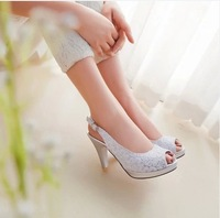 Free shipping!!! Fashion European style woman/lady high heel sandal/shoes, elegant sexy paillette design women pumps