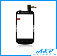 100%Original For Motorola XT319 Black Best Quality Touch Screen Glass Replacement Digitizer Lens Free Shipping