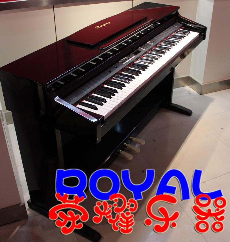 Yin Fei electric piano TG8815 88 key digital piano black light TG-8815(China (Mainland))