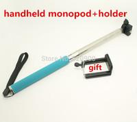 Handheld Aluminum Alloy Portable Flexible Telescopic Extendible Monopod Tripod Handlebar holder for for GoPro digital Camera