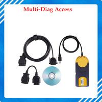 Multi-Di@g Multi Diag Access J2534 Pass-Thru OBD2 Device OBD2 Multidiag Multi Diag Scanner with Fast Shipping