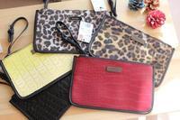 AB082 mango Modern Fashion Classic Organizer Storage Bag Clutch Wristlet free shipping drop shipping