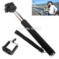 2014Newest Selfie Rotary Extendable Handheld Camera Tripod Smartphone Monopod For Digital Camera phone i9300 i9500 n9006 n7100