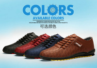 Factory Outlet spring and summer men's casual breathable hole lace shoes men shoes Business