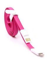 Wholesale Magnetic USB data sync cable for iphone5/5s 4 Feet  charger cable 50pcs