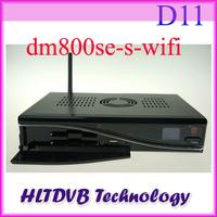DM800hd se wifi Satellite Receiver 300mbps WLAN Inside SIM2.10 BCM4505 400Mhz Tuner D11 Version DM800se Wifi DHL Free Shipping