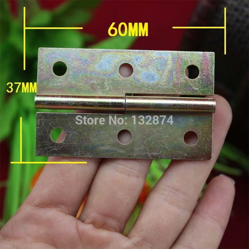 60 * 37MM plating color screens hinge cabinet hinge glass door hinge metal hinge(China (Mainland))
