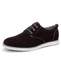38-47!Big Size!new 2014 mens Fashion shoes Suede genuine leather oxfords casual men's shoes men sneakers European style  RM-111