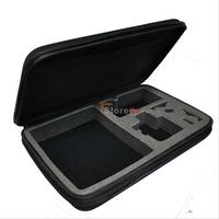 New Larger size gopro 3 case gopro hero 3 bag gopro storage bag for Gopro Hero HD 1 go pro 2 hero 3 hero3 +,free shipping