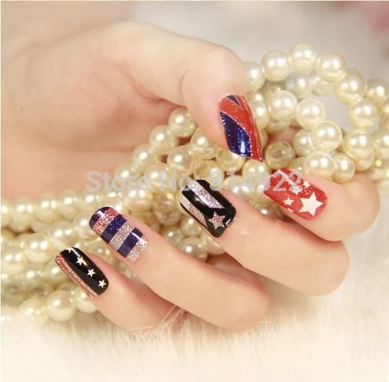 Freeshipping ! New 2014 nail art decorations, 12 stick/pcs ,20 Designs Fashion high quality Nail art stick(China (Mainland))