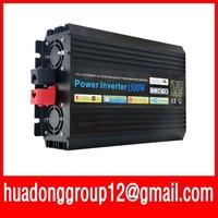 3000W Watts Peak Real 1500W 1500 Watts Power Inverter pure sine wave inverter 36V DC to 220V AC + Free shipping