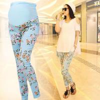 2014 new hot sale big size maternity summer roupa de gravida cotton women's pants large size pants for pregnancy free shipping