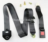 UNIVERSAL FIT SAFETY 3 POINT RETRACTABLE AUTO VEHICLE VAN CAR SEAT LAP BELT EXTENDER THROUGH WAIST AND SHOULDER BLACK