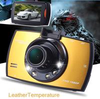 HD Color IR Car DVR Night Vision Car Dash Camera 2.5inch TFT LED Screen Card Road Recorder