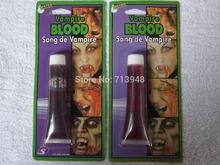 2 pcs 28g Free shipping fake blood, fake blooding, Halloween blood(China (Mainland))