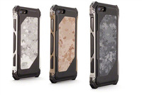 Camouflage metal shell Aluninum alloy metal phone case for iPhone 5 shockproof
