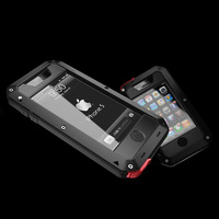 IP67 Waterproof Tempered glass Phone case for iPhone 5 shockproof