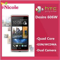 original HTC Desire 606W 8MP Dual SIM Cards Quad Core 4.5inch touchscreen original Smartphone Refurbished  SG Post Free shipping