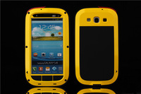 Extreme waterproof shock-proof dirt-resistant Aluminum Metal Case For Samsung GALAXY S3 i9300
