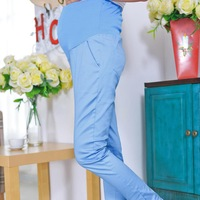G  2014 new maternity clothes pants denim overalls  pregnant women spandex  pregnant women pregnancy pants maternity jean