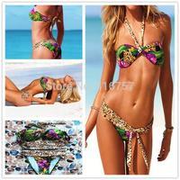 2014 summer swimwear  free shipping bandage bikini